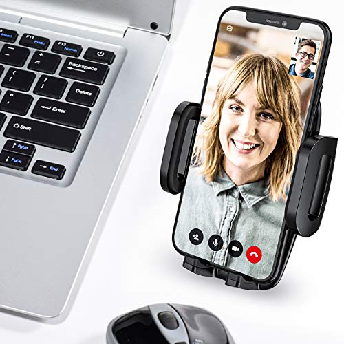Mpow Car Phone Mount, Air Vent Phone Holder, 3-Level Adjustable Clip, Upgrade Clamp Arm, One Button Release, Rotatable Phone Mount Compatible iPhone 11 Pro MAX XS XR X 8 7 6Plus Galaxy S20 Etc