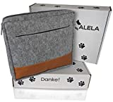ALELA® Premium Futterbeutel | Futtertasche für Hunde-Training | Leckerlitasche in Filz-Optik | Snack-Bauchtasche