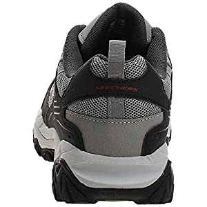 Skechers Sport Men's Afterburn Extra Wide Fit Wonted Loafer,gray/black,10.5 4E US
