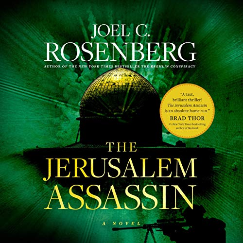 Page de couverture de The Jerusalem Assassin