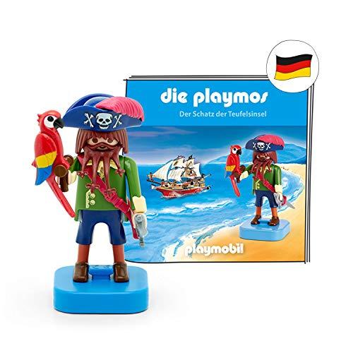 tonies 05- 0001 -  Figuras de Sonido para Caja Toniebox: el Juego de música Playmos # Figura del Tesoro de la Isla del Diablo # Aprox. 50 Minutos # a Partir de 5 años # alemán