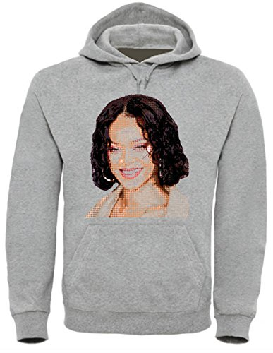 Rihanna Funny Mens & Ladies/Herren & Damen Unisex Hooded Pullover (S)