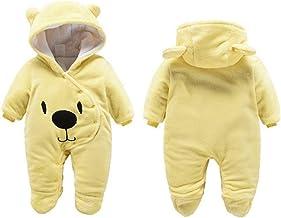 G-Kids - Mono de forro polar para bebé, para recién nacidos, niño, niño, con capucha