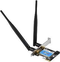 Vbestlife Tarjeta de Red PCIE Banda Dual 2.4G / 5G + Bluetooth 4.0 433Mbps para Computadora de Escritorio