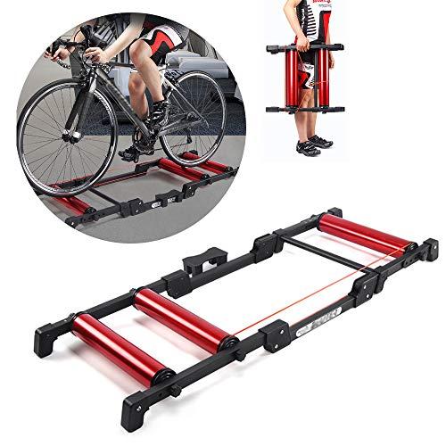 HZGrille Rodillos para Bicicletas,Rodillo Bicicleta Carretera,Rodillos de Bicicleta,Bkool Smart Pro, para Ciclismo...