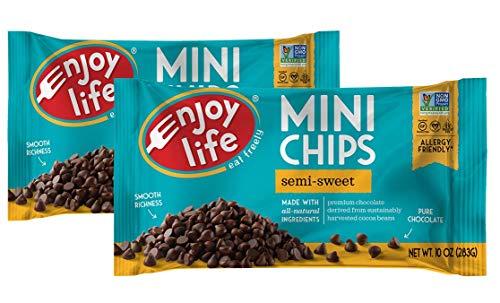 Enjoy Life Semi Sweet Chocolate Mini Chips  10 oz  2 pk by Enjoy Life Foods