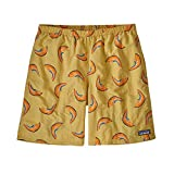 Patagonia M's Baggies Longs-7 in. Costume a Boxer, Melons/Surfboard Yellow, M Uomo
