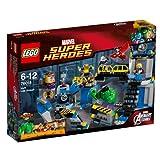 LEGO Super Heroes - El Ataque al Laboratorio de Hulk, Juego de construcción (76018)...