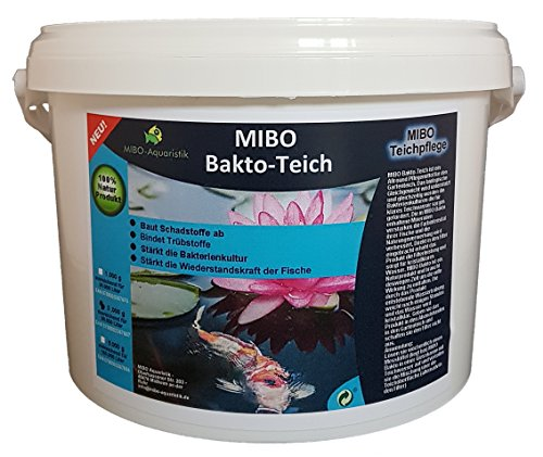 MIBO-Aquaristik -  MIBO Bakto Teich 3kg