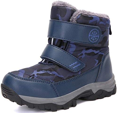 UBFEN Kids Snow Boots Boys Girls Winter Warm...