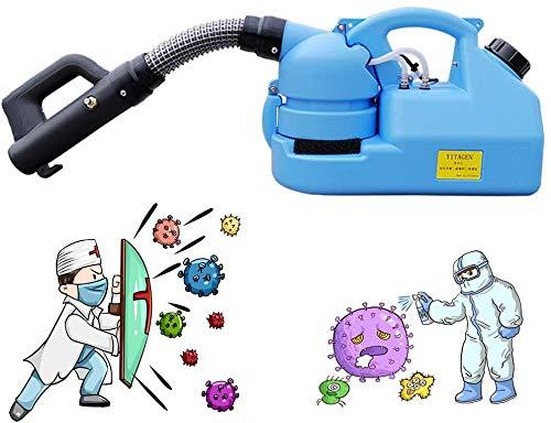 ETE ETMATE Pulvérisateur électrique d'ULV, Machine portative de Brumisateur de Machine de Brumisateur pulvérisateurs industriels de Stérilisation nébuliseur de Brumisation pour l'usine