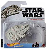 DieCast Hotwheels Millennium Falcon, Star Wars Starships