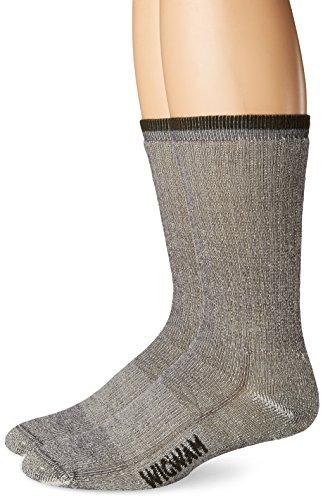 Wigwam Merino Comfort Hiker 2-Pack S2322 Sock, Charcoal - MS