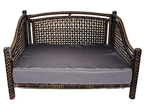 Maharaja Rattan Pet Day Bed, Indoor/Outdoor