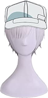SUNCOS High Temperature Fiber Full Cells at Work! cosplay wigs anime hair Red blood platelet (White blood cell)
