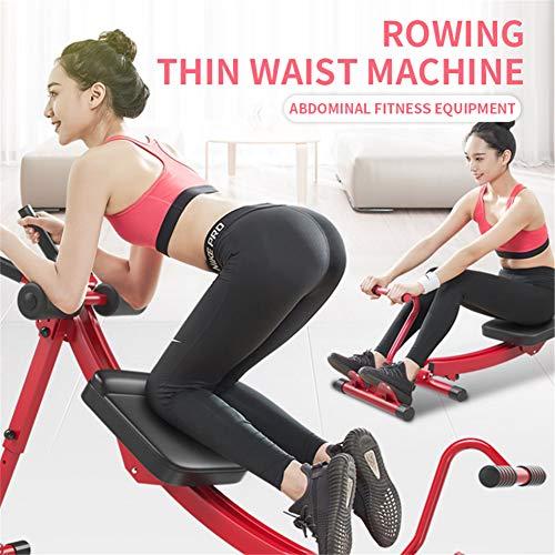 ZHANGY Rudergerät Home Silent Rudergerät Taille und Bauch Training 3-in-1 Multifunktions-Hydraulik-Ruder Sport Fitnessgeräte,A