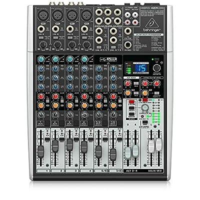 Behringer X1204USB Xenyx 12 Input 2/2 Bus Mixer