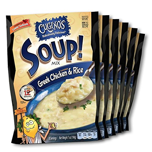 Cugino's Greek Chicken & Rice Soup Mix, 7 Oz (Pack of 6)