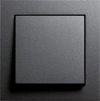 GIRA E2 anthrazit (1x Wechsel-Wippschalter, 1x Rahmen 1fach, 1x Wippe)