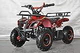 Hanking Planet - Mini quad Speedy con motore automatico 49 cc a 2 tempi, per bambini...