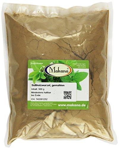 Makana Süßholzwurzel natur, gemahlen, 500 g Beutel (1 x 0,5 kg)