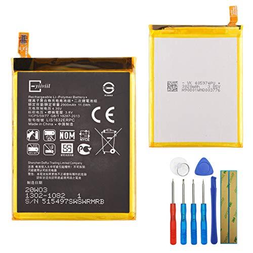 Li-Polymer Neuer Ersatzakku LIS1632ERPC Kompatibel mit Sony Xperia XZ Xperia XZ Dual SIM F8332 F8331 1305-6549