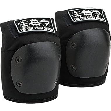 187 Killer Pads Fly Knee (Black, Medium)