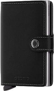 Secrid Miniwallet - Original Black Leather