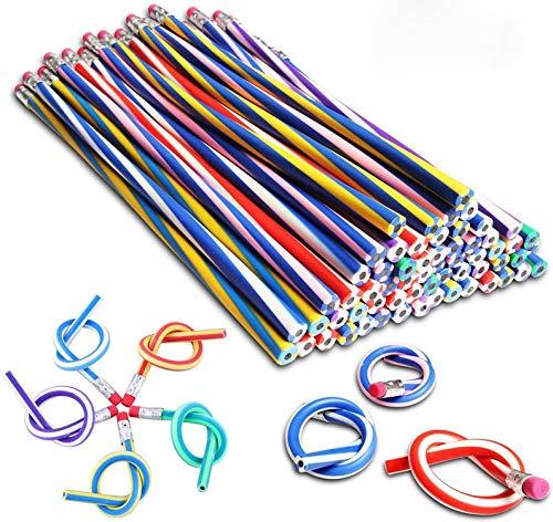 Flexible Biegsame Bleistifte Magic Gebogen Biegbare Bleistifte Biegebleistift Kinder Mitgebsel Spielzeug Geschenke Kindergeburtstag Schule Ausrüstung 40 Stück