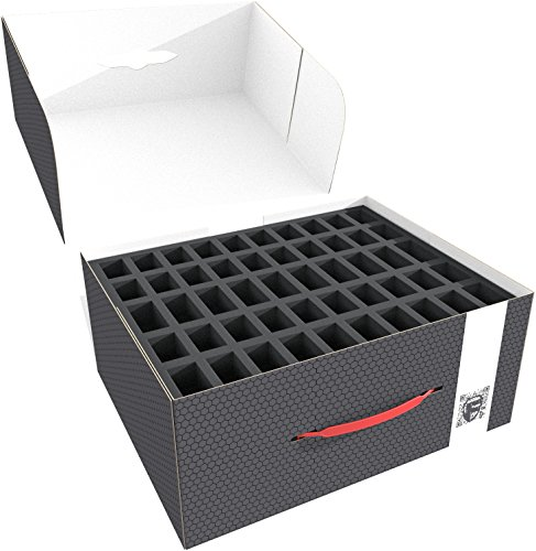 Feldherr Storage Box Compatible with 100 Miniatures Plus Tanks or Monster