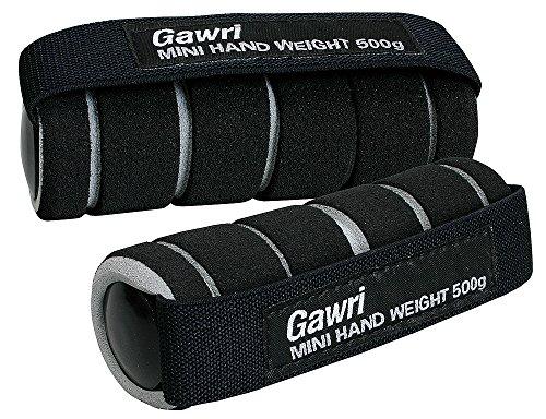 秦運動具工業 Gawri ミニハンドウエイト 500g 2ヶ組 GWM5002