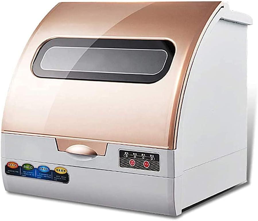 MOSHUO Lavavajillas Ultravioleta portátil, lavaplatos Compacto Que Ahorra Espacio, para la Oficina del apartamento y la Cocina del hogar, lavaplatos de un botón