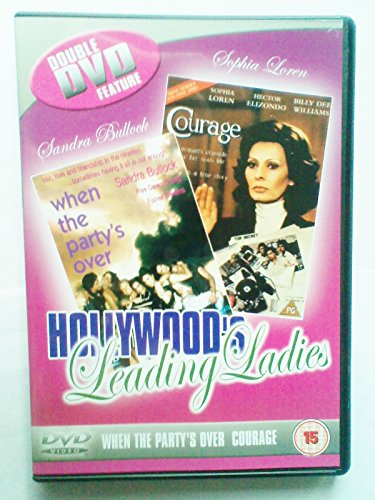 Hollywood leading ladies - When the Party's over & Courage DVD Sophia Loren / Billy dee Williams / Sandra Bullock