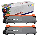HIINK Comaptible Toner Cartridge Replacement for Brother TN-660 TN660 TN630 High Yield Toner Cartridge use with HL-L2300D HL-L2305W HL-L2340DW HL-L2360DW HL-L2380DW MFC-L2680W(Black, 2-Pack)
