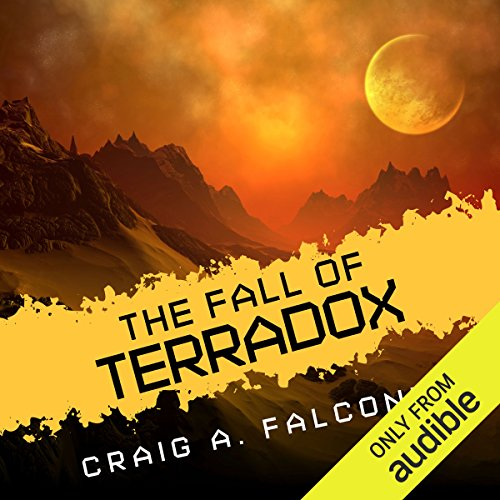 The Fall of Terradox audiobook cover art