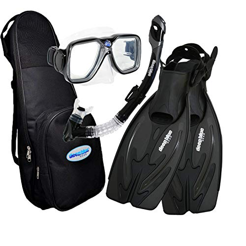 Deep Blue Gear - Adult Diving Snorkel Set