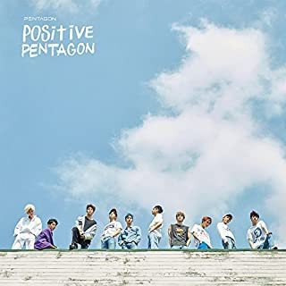 Cube Entertainment PENTAGON - Positive (6th Mini Album) CD+2Booklet+Photocard+Official Folded Poster+Extra Photo card
