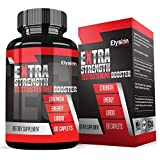 Extra Strength Testosterone Booster For Men (60 Caplets) - Natural Stamina, Endurance and Strength Booster - Fortifies Metabolism - Promotes Healthy Weight Loss and Fat Burning - Lean Muscle Growth