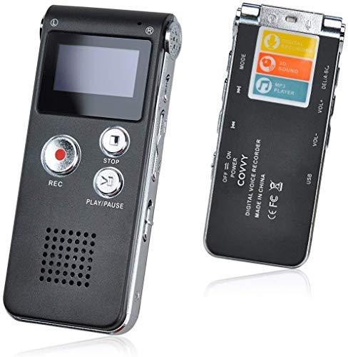 8 GB draagbare voice recorder, USB digitale audio recorder draagbare voice recorder met multifunctionele microfoon en…