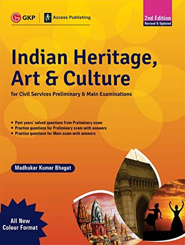 Indian Heritage, Art and Culture (Preliminary & Main) 2ed - Multicolour Book