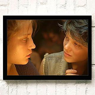 Klassieke Film La Vie D'Adèle Romantiek Liefde Posters Kwaliteit Canvas Schilderij Art Thuis Wall Decor Foto A1959 50×70 C...