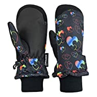 N'Ice Caps Kids Toddler Baby Easy-On Wrap Waterproof Thinsulate Winter Mittens