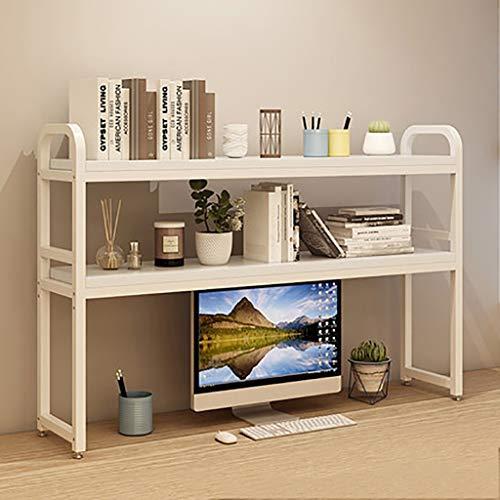 Pequeño escritorio con soporte de mesa, escritorio estante de libros, de revistas, montado en rack de almacenamiento de escritorio, de escritorio bookshel ( Color : D1 , Size : L75CM*W25CM*H90CM )