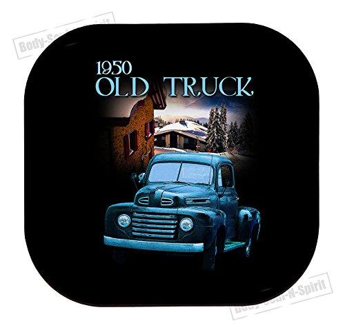1950 oude truck cadeau voor man beker Drink houder Tableware MDF Mat Houten Dye onderzetter