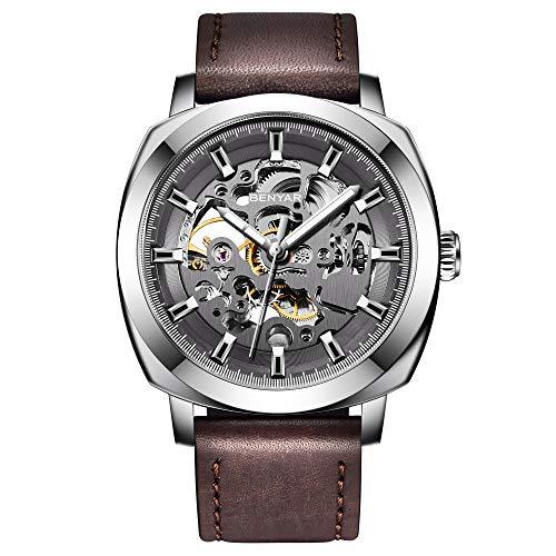 BENYAR Relojes de Hombre Fashion Mecánico Automático Relojes Hombre