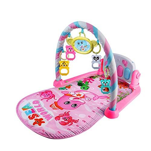 TESEA Baby Gym Tapetes De Juego Musical para Piso Patadas Y Juegos Piano Gym Centro De Actividades con Música Luces Y Sonidos Juguetes para Bebés Y Niños Pequeños De 0 A 12 Meses De Edad up-to-Date