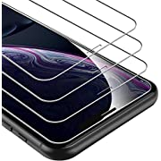 UNBREAKcable iPhone 11/XR Panzerglas [3 Stück] für Apple iPhone 11/XR, 9H Härte Panzerglasfolie, 2.5D Displayschutzfolie, Anti-Bläschen, Anti-Kratzer, leicht anzubringen