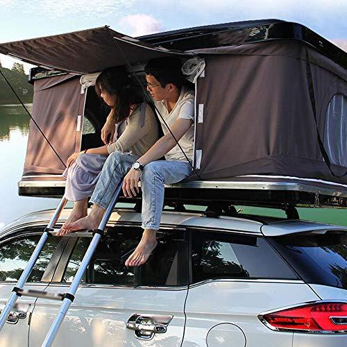 Camper Hard Shell Pop Up Dachzelt für Camping Wandern (Remote/Batterie betrieben)