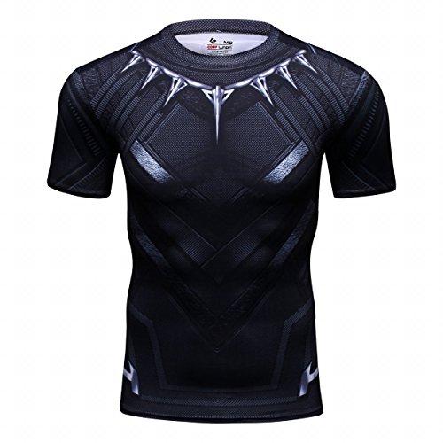 Cody Lundin–Camiseta de manga corta para hombres–Diseño de películas de superhéroes, leopardo