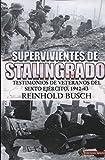 Supervivientes de Stalingrado: Testimonios de vetaranos del Sexto Ejército, 1942-43